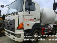 used hino 700 concrete mixer truck in china