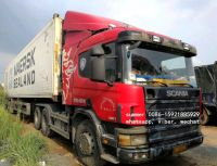 used scania P380 tractor head truck for sale