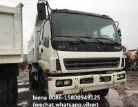 japan made isuzu 25tons dump truck