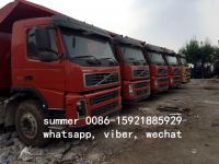 used volvo FM9 FM12 dump truck for sale in china, 6x4 dump truck