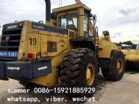 used komatsu wa470-3 wheel loader in cheap price, used japan loader for sale