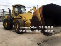 used komatsu wa470-3 wheel loder in cheap price, used loader for sale in china