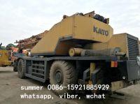 used 50ton kato rough terrain crane in cheap price