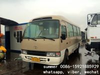 used toyota coaster bus for sale, used 26 seats 30seats bus price