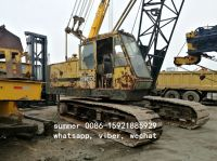 used japan brand 35t crawler crane in cheap price
