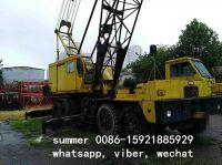 used 90tons mobile lattice crane made in japan