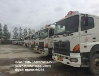 used japan hino 700 concrete mixer truck