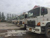 used japanese hino 700 cement mixer trucks