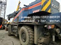 used japan rough terrain crane for sale, used 25t kato price