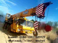 used 45t mobile truck crane for sale in china, used kato crane price