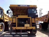 used cat brand off highway dump truck in hot sale