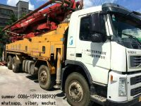 used 37-46m putzmeister concrete pump truck price