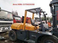 used tcm forklift 10 ton fd100 forklift