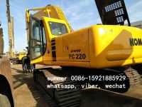 used komatsu pc220-6 crawler excavator for sale in china