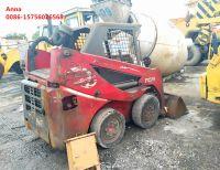 mini skid steer loader used diesel tcm wheel loader