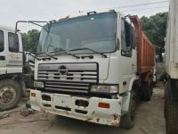 Used dump truck Hino 350hp 6X4 tipper truck