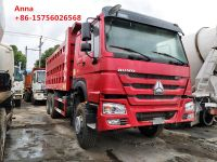 Used sinotruk Howo tipper truck, china dump trucks for sale