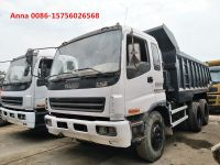 Used Isuzu dump truck, original japan tipper truck