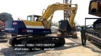 used komatsu pc200-6 20tons excavator price