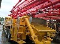 used 37m putzmeister-isuzu concrete pump truck for sale in china