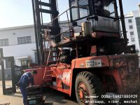 used 9t fantuzzi empty container stacker