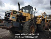 used komatsu wa380-3 wheel loader
