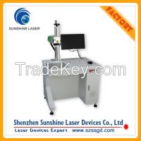 High Quality 10w Pet Nameplate Fiber Laser Printing Machine