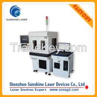 3W 355nm UV Laser Marking Machine with Protection Cover for Sale