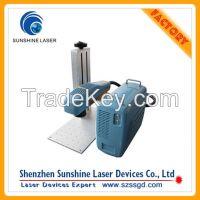 2015 Hot Sale Portable Fiber Laser Engraver for Aluminum Iphone Case