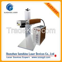 Buy Laser Machine Mini Fiber Bird Ring Portable Laser Marker 10w 20w