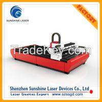 High Efficiency 500w Galvanized Plate Fiber Laser Cutting Machine For Metal Cutting