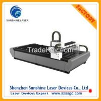 Good Performance 500w Fiber Laser Cutting System on Metal