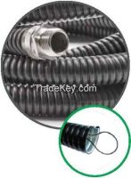 PVC Isolated Galvanized Steel Spiral Conduit