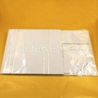 Quality white folding paper gift box with hard paperbaord