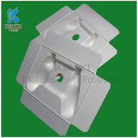 Thermoformed Molded Fiber Inner Packaging Trays Made from Recycled a4 Paper