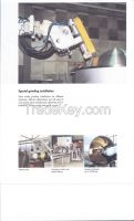 FARROS BLATTER VESSEL, LINE WELDER, CAMBER PRESS, BOLDRINI Grinding, Press, Plaster & Welding Machines