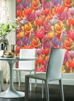 Wallpaper paper vinyl construction paintable decorative