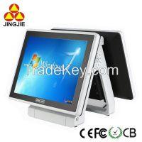 Touch screen POS Terminal JJ-8000BU (dual screen)
