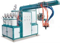 Double density 4 color Pu Pouring Machine (Smart Series)