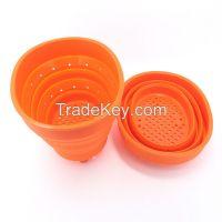 Silicone Strainer Basket for Vegetable/Fruit