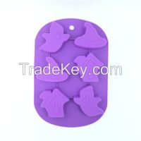 Halloween Silicone Molds For Cake Pudding Jelly