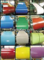 Pre-painted galvanized steel coil / PPGI /Color coated steel coil