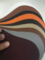 Embossed PVC synthetic leather for sofa, chair and upholstery