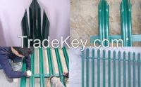 Palisade fencing for sale Galvanized /powder coated Palisade Fence/palisade fence