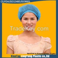 Disposable non woven clip cap