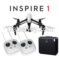 DJI INSPIRE 1 Quadcopter Drone w/ 4K HD Camera, DUAL 2x remotes and free case