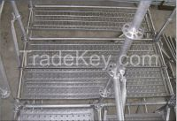 Anti-sking Hot-dipping Galvanized Steel Plank