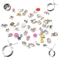FLOATING CHARM LOCKETS