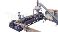 Two stage single screw extruder, power-saving with cheap price