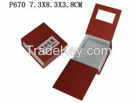 Customize paper jewelry gift box